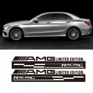 Два броя Стикери за мерцедес AMG Racing sport, Mercedes Benz AMG Универсални